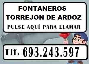 Fontaneros baratos Torrejon de Ardoz Urgentes