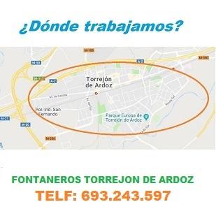¿ en que zonas de Torrejon de Ardoz trabajamos ?