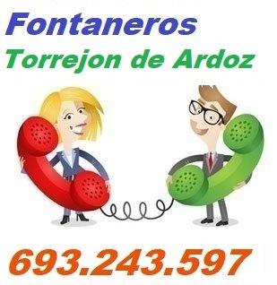Telefono de la empresa fontaneros Torrejon de Ardoz