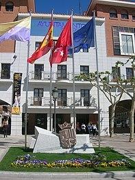 Ayuntamiento en la localidad de Torrejon de Ardoz